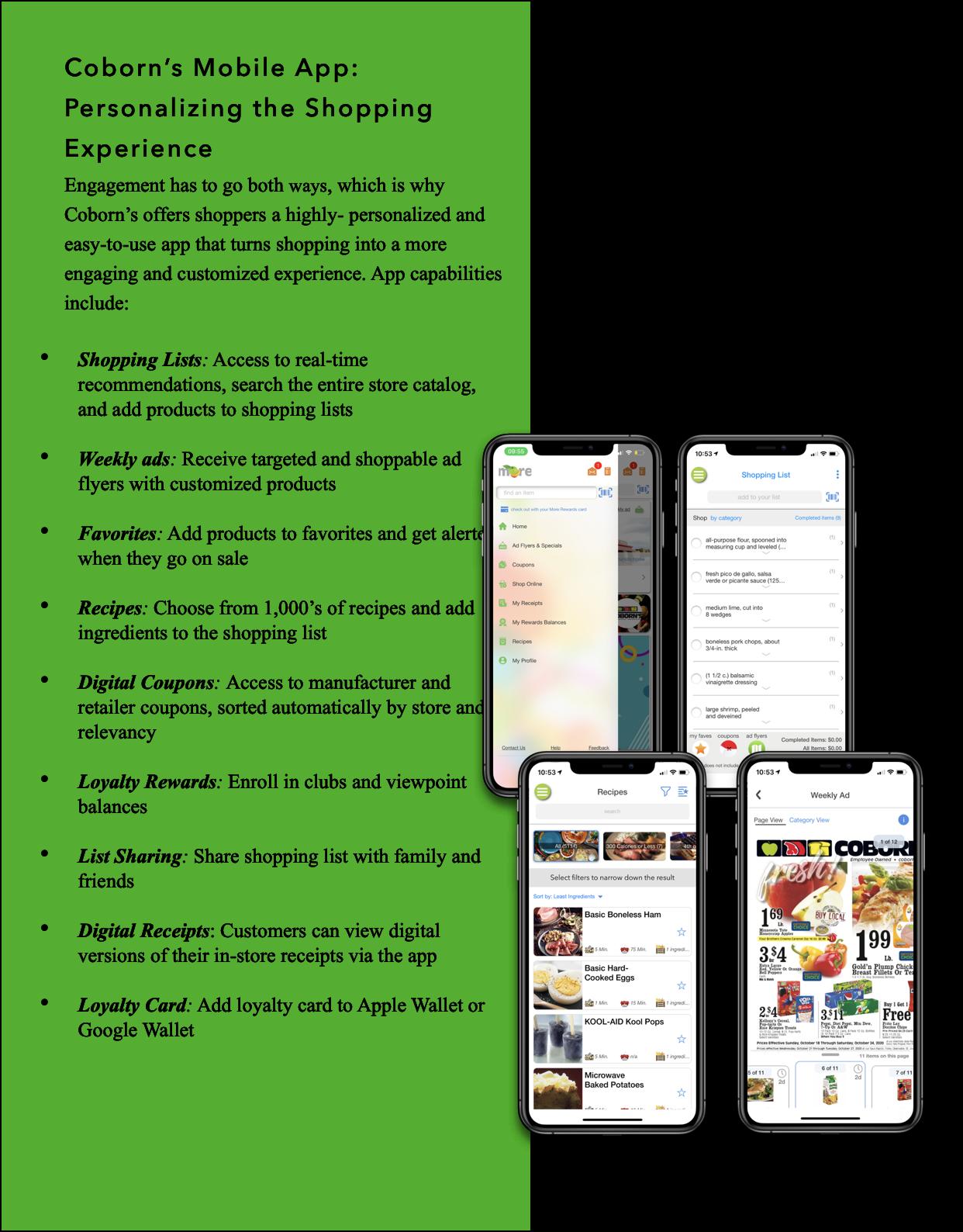 Coborn's mobile app